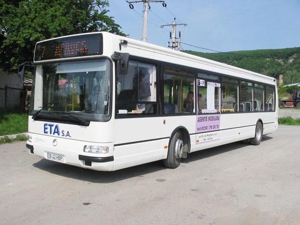 Operatorul de transport persoane SC ETA SA estimează pentru acest an venituri de 12,88 milioane de lei