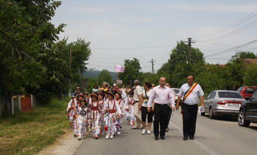 Căluşarii din Vâlcea şi Olt joacă, de Rusalii, la Şirineasa