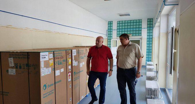 Aparatură nouă la Secţia reanimare a Spitalului Judeţean