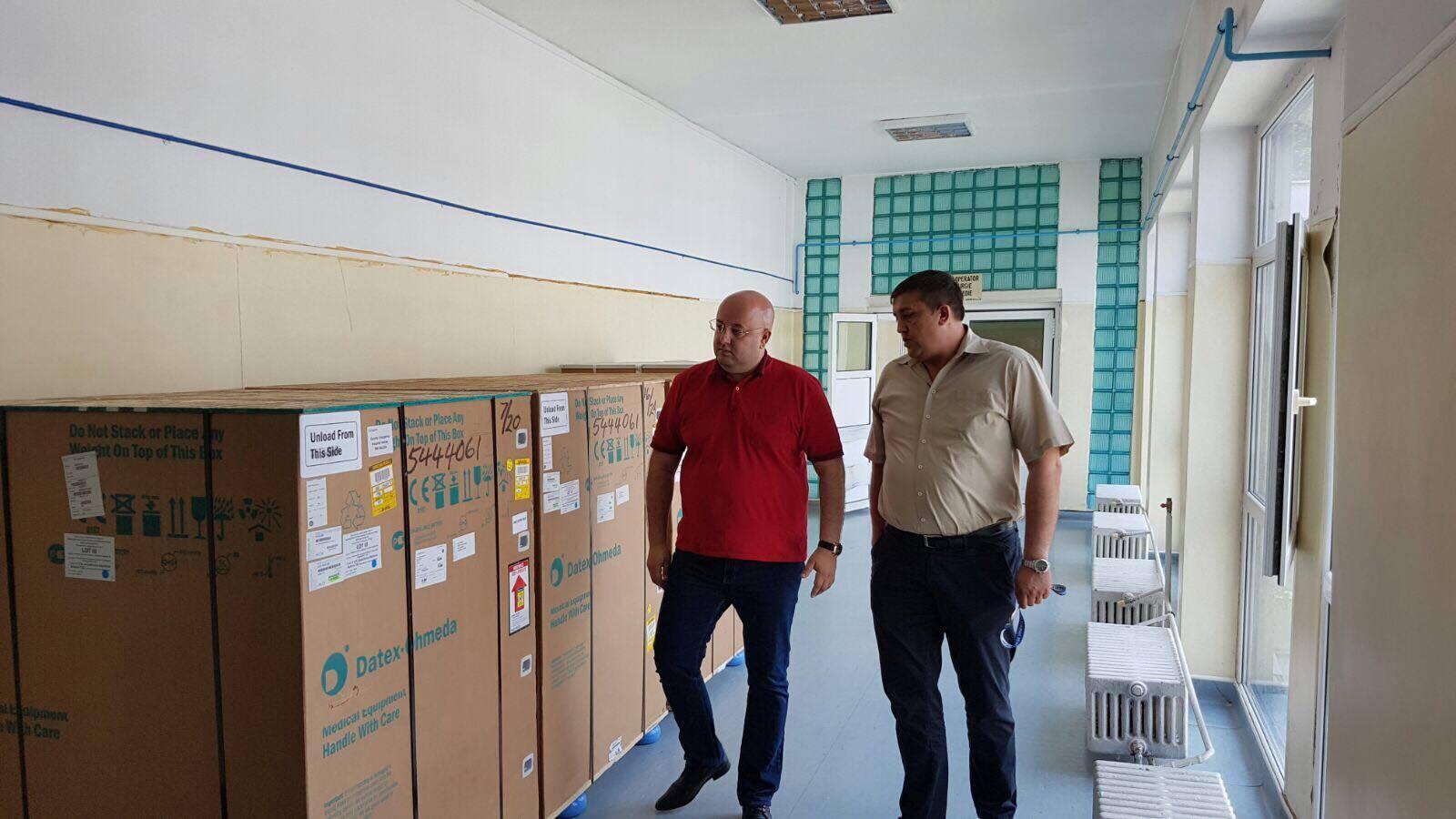 Dotări suplimentare la spitalul Mihăești, pentru lupta împotriva pandemiei