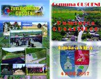 Pe 4 iunie va avea loc a VII-a editie a Zilei comunei Gusoeni