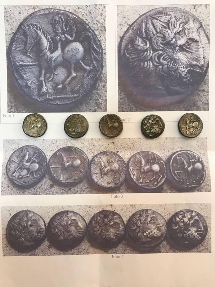 Încă 5 monede geto-dacice au fost descoperite la Bujoreni
