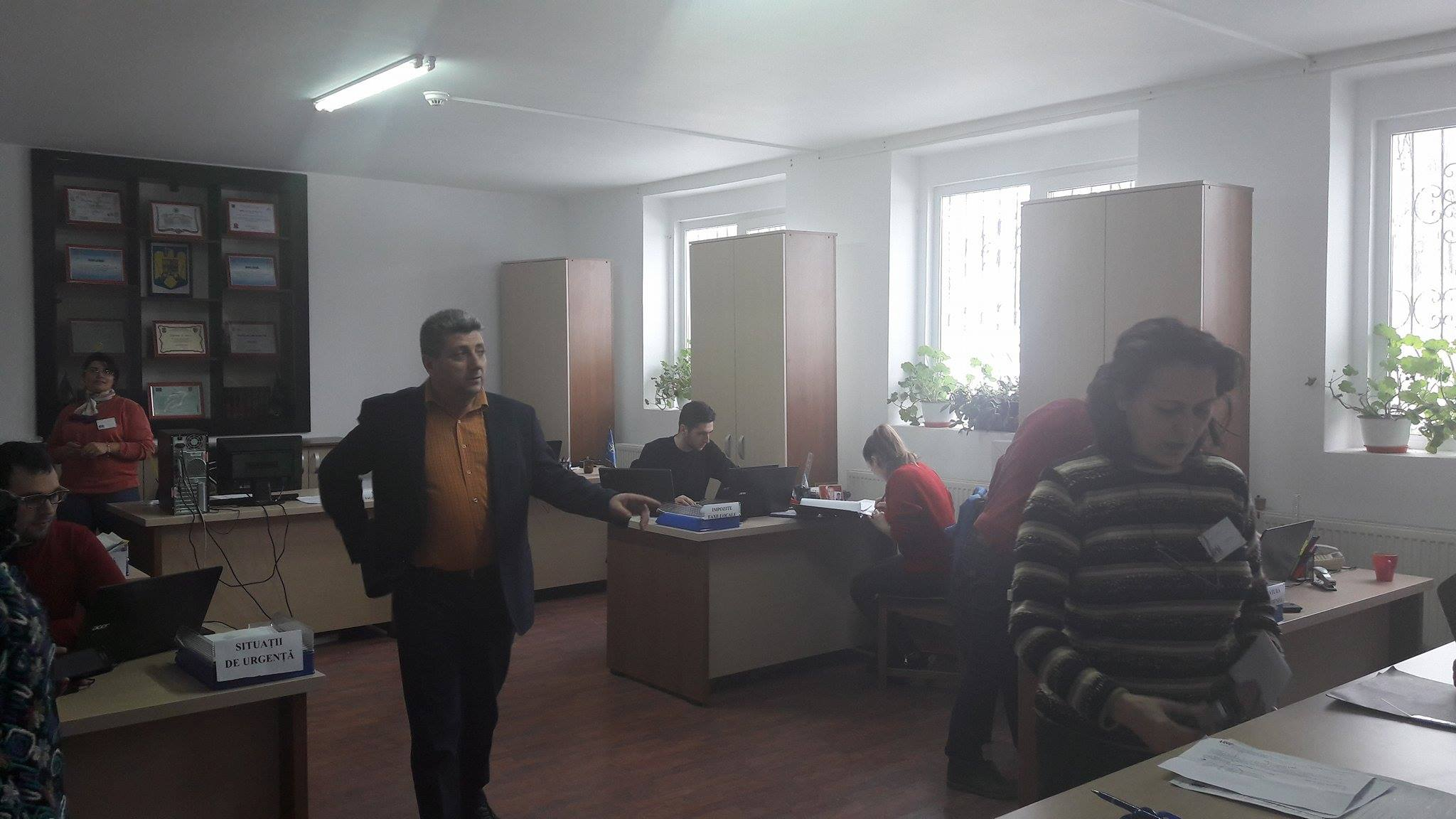 """Nicolae Concioiu: """"Soluţionarea problemele cetăţenilor este scopul esenţial al administraţiei locale Guşoeni"""