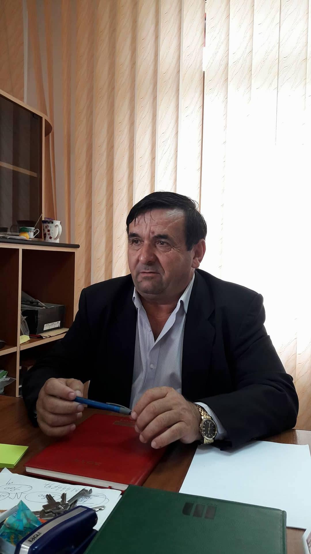 """Dumitru Blejan: """"Sunt un primar de ţară, apreciat de consăteni mei"""""""