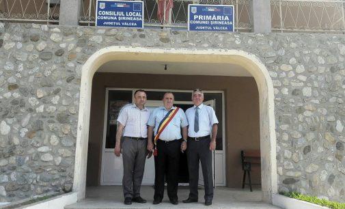 La Şirineasa, Ion Streinu va amenaja trotuare de-a lungul drumului naţional
