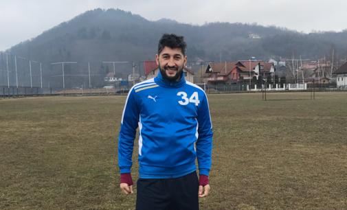 Florin Costea se antrenează cu Cozia Călimănești