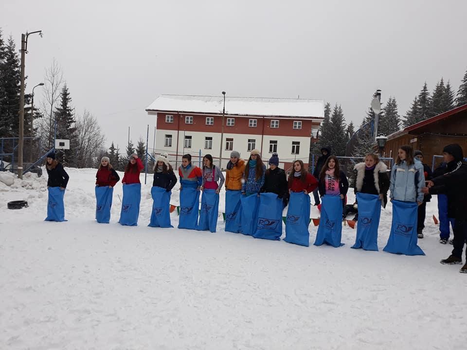 Serbările Zăpezii, bucuria copiilor