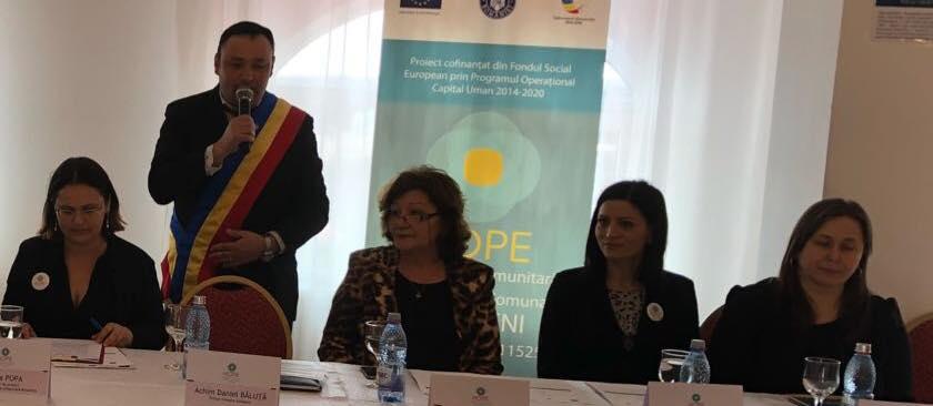 Vaideeni, singura comună din județul Vâlcea care accesează un proiect european pentru combaterea sărăciei