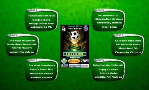 Cupa Boromir, cea mai puternică competiție de minifotbal din țară!