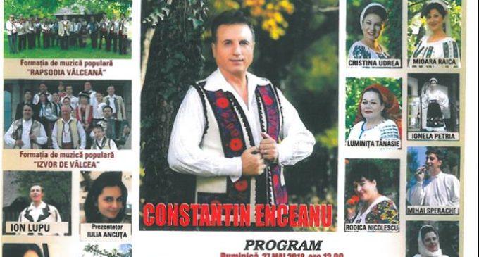 Constantin Enceanu, invitat special de Ziua comunei Sălătrucel