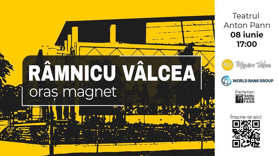 Mișcăm Vâlcea și World Bank România vă invită la o seară de dezbatere la Teatrul Anton Pann