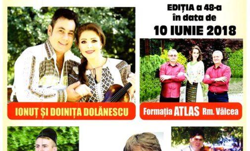 """Festivalul """"Cireşarii"""" a ajuns la a 48-a ediţie"""