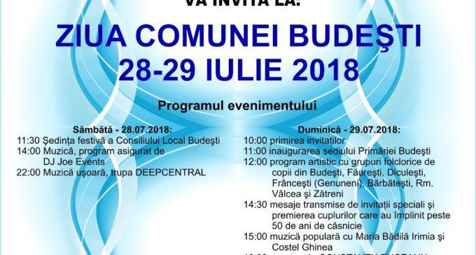 De Zilele comunei Budeşti, administraţia locală va inaugura noul sediu al primăriei