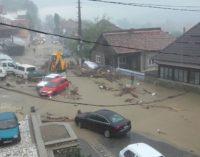 Comuna Vaideeni, lovită din nou de inundaţii