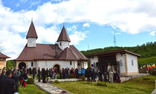"""Mănăstirea """"Înălţarea Domnului"""" de la Muntele Rece, ridicată în cinstea eroilor"""