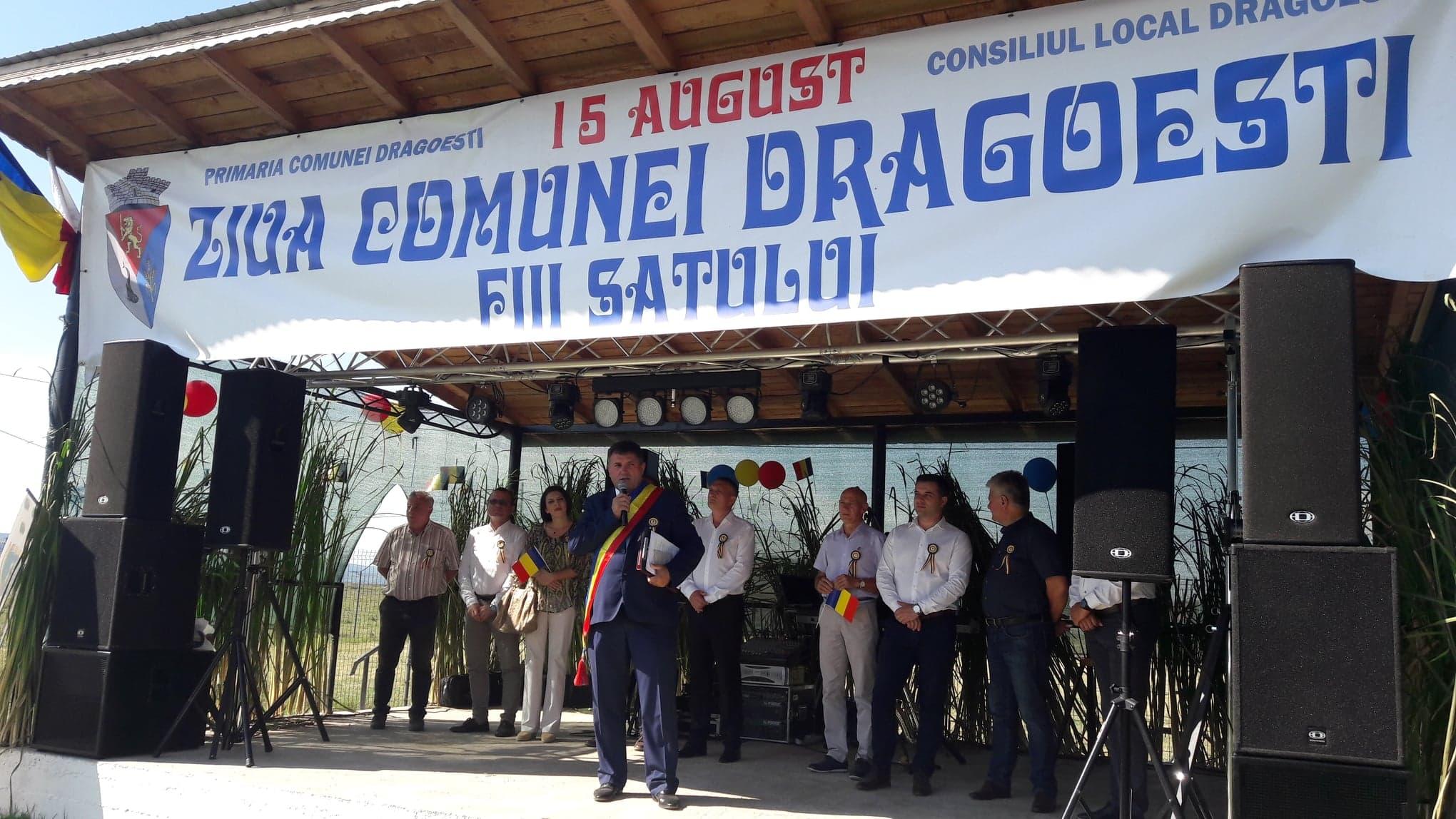 Muzică, joc şi voie bună, la Ziua comunei Drăgoeşti