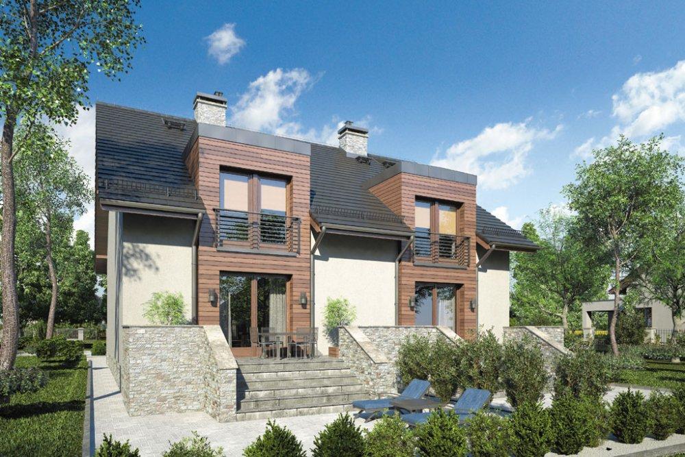 Casele de tip duplex, tot mai populare pe piață