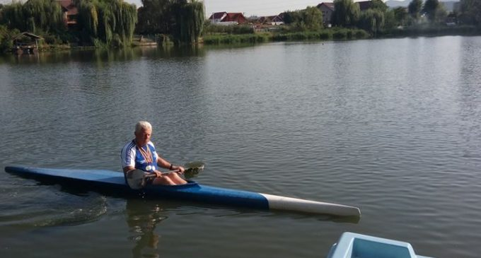 Vasile Stramatie din Bujoreni vrea să reînvie caiac-canoe la Vâlcea
