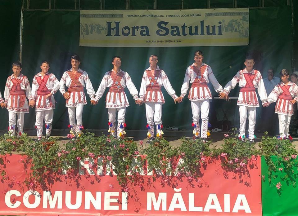 Mălaia în sărbătoare de ziua comunei