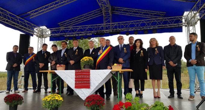 Ziua Comunei Frâncești, sărbătorită sub semnul centenarului Marii Uniri