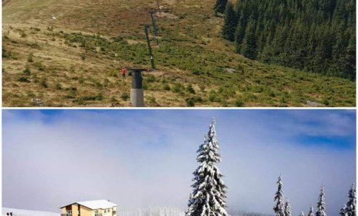 Cel mai nou domeniu schiabil din România se află la Horezu. Turiştii vor putea schia, din această iarnă, la Vf Roman