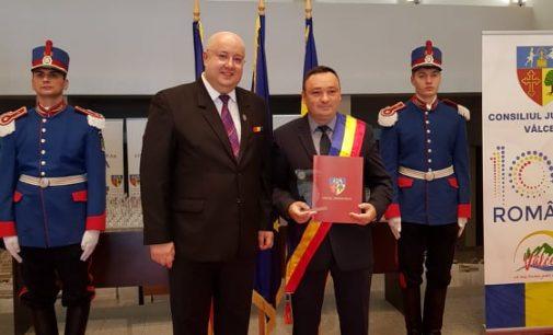 """Daniel Băluță, primar Vaideeni: """"Aceste momente ne fac să ne simțim fericiți, uniți și puternici, pe toți românii!"""""""