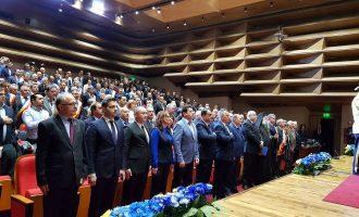 Deputatul Vasile Cocoș, prezent la sedința festivă organizată de Consiliul Județean în cinstea Centenarului Marii Uniri