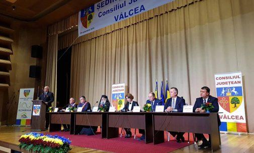 Şedinţă solemnă la Consiliul Judeţean Vâlcea, la 100 de ani de la Marea Unire