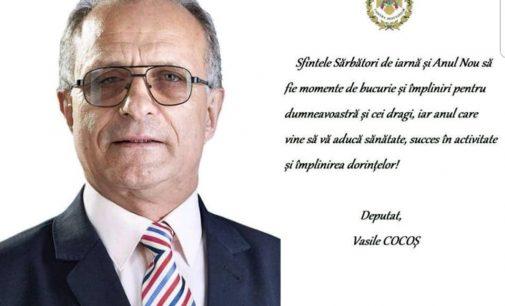 Vasile Cocoș: Sărbători fericite!