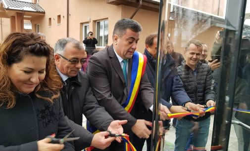 La Lungești, a fost inaugurată cea mai frumoasă sală de sport din județul Vâlcea