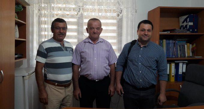 Zona centrală a localităţii Goleşti, amenajată cu bani europeni