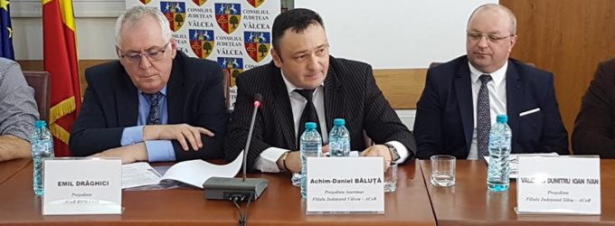 Primarul de la Vaideeni, Daniel Băluță, ales preşedinte al ACoR Vâlcea