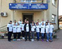 500 de arbori au fost plantaţi cu sprijinul Romsilva, la Mihăeşti