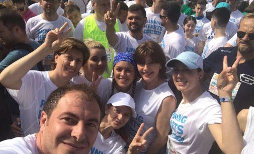 Echipa vâlceană Running Hearts aleargă la Autism 24H Marea Neagră