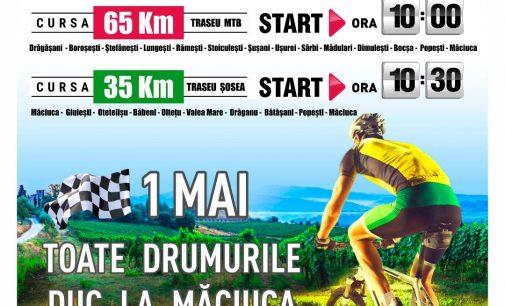 De 1 mai, drumurile cicliştilor duc la Măciuca