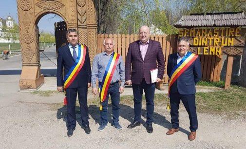 Consiliul Județean a dat starul lucrărilor la drumul care duce la Mănăstirea Dintr-un Lemn