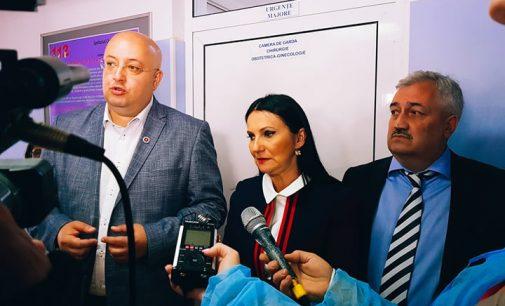 """Sorina Pintea: """"Spitalul din Horezu este printre puţinele din ţară fără sesizări în ceea ce priveşte actul medical sau condiţiile de igienă"""""""