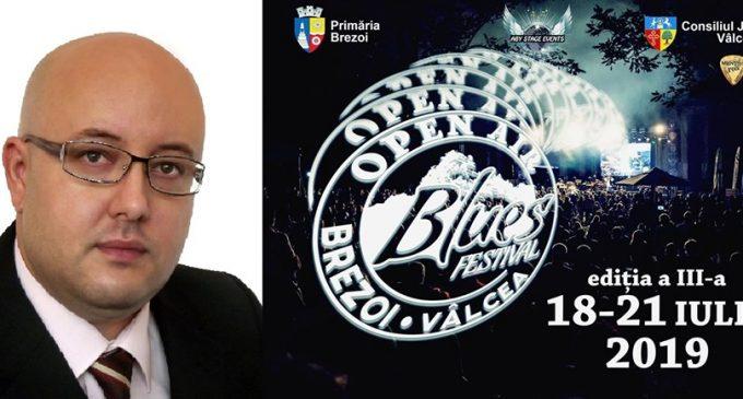 """Sprijin financiar de la Consiliul Judeţean Vâlcea pentru """"Open Air Blues Festival Brezoi"""" 2019"""