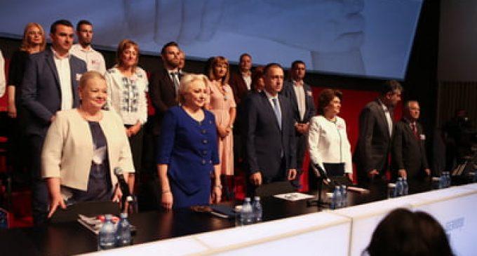 PSD are o nouă conducere: Viorica Dăncilă este noul preşedinte. Teodorovici a fost votat preşedinte executiv şi Fifor secretar general