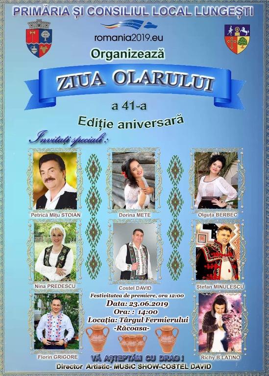 """Pe 23 iunie, la Lungești, se sărbătorește cea de-a 41-a ediție  a """"Zilei Olarului"""""""