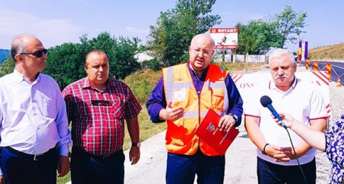 Investiţie finalizată la Şirineasa. Vâlcenii vor beneficia de 11 kilometri de drum modernizat