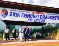 Comuna Drăgoeşti, la ceas de sărbătoare. A marcat cea de-a VIII-a ediţie a Zilei Comunei