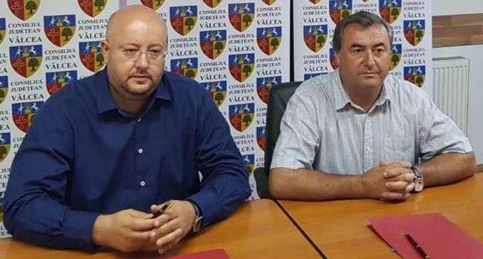 S-a semnat Acordul de parteneriat între Consiliul Județean Vâlcea și Primăria Bălcești pentru reînființarea spitalului de la Bălcești