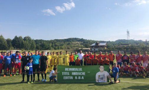 """Pe 25 august, la Popești, a avut loc a doua ediție a Memorialului """"Titel Iordache"""""""