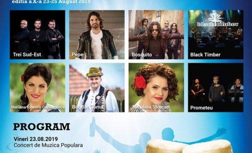 Artişti de renume vor concerta la Târgul Lotrilor de la Brezoi