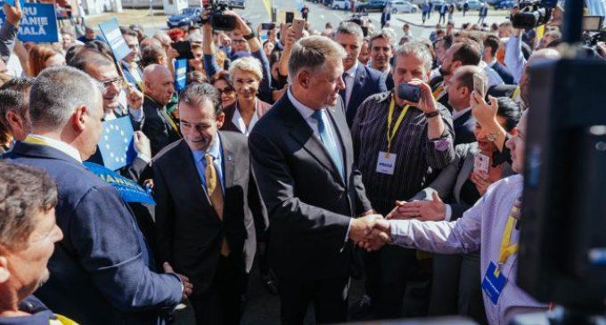 Preşedintele Klaus Iohannis, prezent la Craiova