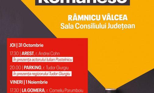 Zilele Filmului Românesc la Râmnicu Vâlcea: premiere și invitați speciali