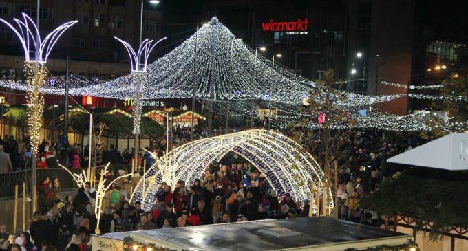"""Sărbătorile de iarnă vor fi animate din nou în Râmnic la târgul """"Decembrie Magic"""""""