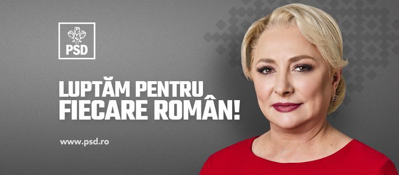 """Viorica Dăncilă: """"Văd instituţia prezidenţială ca pe o cameră de urgenţă"""""""