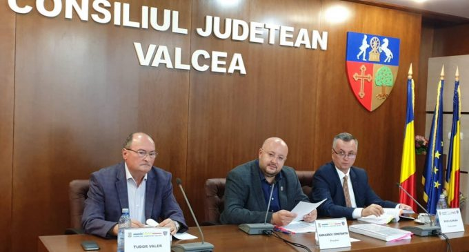 Rectificare negativă de buget în sumă de 65,9 milioane de lei la Consiliul Județean Vâlcea